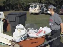 Veterans volunteer for Hurricane Matthew victims