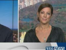 Sarah McLachlan speaks with WRAL's Bill Leslie about Macy's Thanksgiving Day Parade