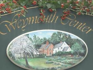 Weymouth Center in Southern Pines decorates for the holidays