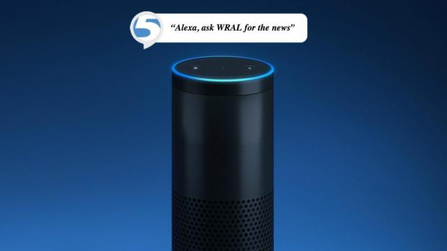 Cary man says 'Alexa' disclosed private conversation :: WRAL com