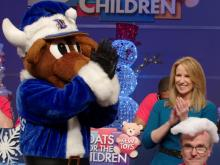 Photos of WRAL's annual Coats for the Children event from 2016.  The telethon raises money and coats for Salvation Army families.