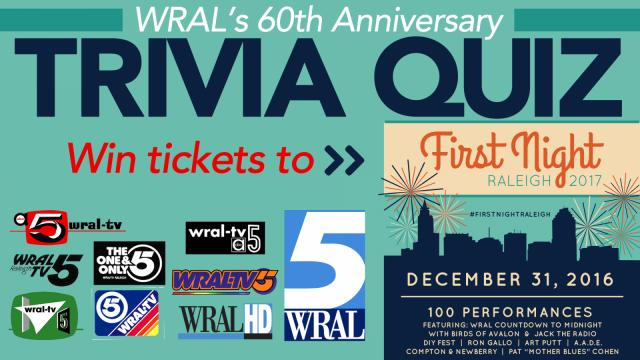 60 years of WRAL: Trivia quiz