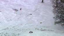 Sky 5 captures Dorothea Dix sledders