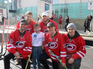 Wish to play with the Hurricanes