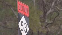 The detour around that short stretch of road takes drivers on a 30-mile journey.