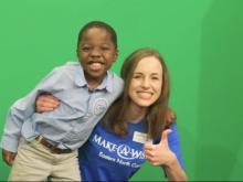 Mac visits WRAL, helicopter wish revealed