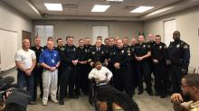 IMAGES: Garner Police Department names 9-year-old as honorary officer
