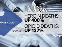 Wake County leaders propose plan to fight heroin, opioid overdoses