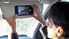 'Smart visor' could allow driverless car pass...