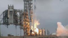 Have You Seen This Video? Rocket launch, truck falls th...