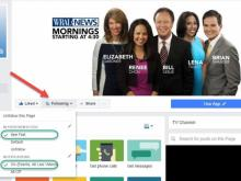 Tailor your WRAL-TV Facebook experience