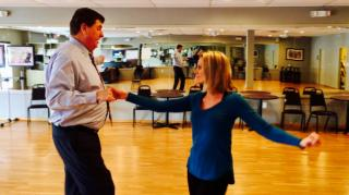 WRAL's Amanda Lamb is competing in the Dancing Like the Stars 2017 at the Southern Women's Show on Saturday, April 22 at the State Fairgrounds.