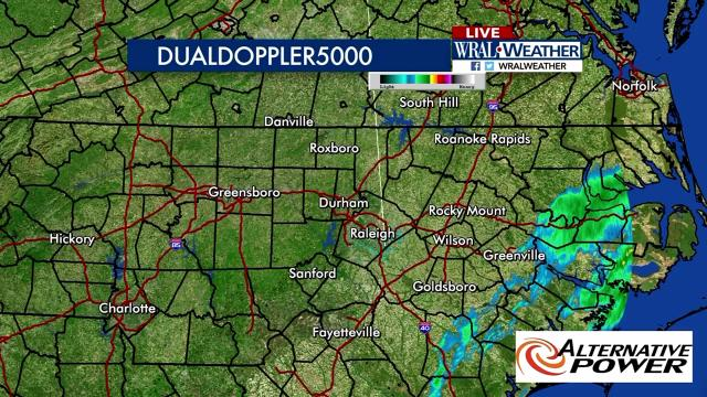 Use the live DualDoppler5000 radar on your Android TV device to track storms as they approach.