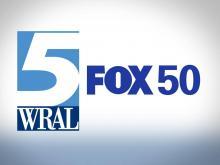 WRAL FOX 50 logos