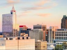 Raleigh skyline -- wide