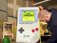 Have you seen this video? Largest Gameboy, hurricane rescue