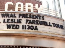 Photos: Bill Leslie visits Cary, says goodbye