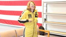 IMAGES: Elizabeth Gardner, Two Men & A Mom fly with U.S. Army Golden Knights