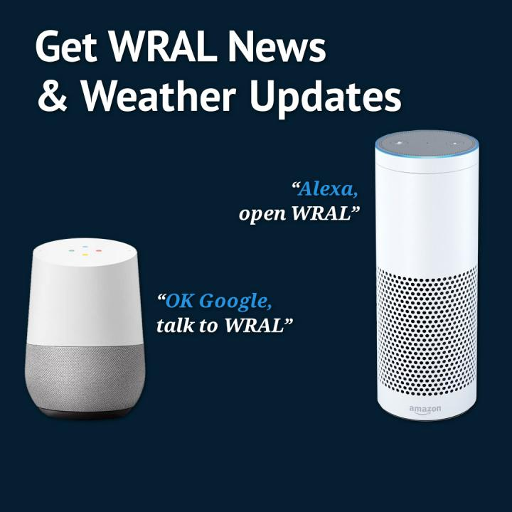 Get WRAL news and weather on Amazon Echo, Google Home
