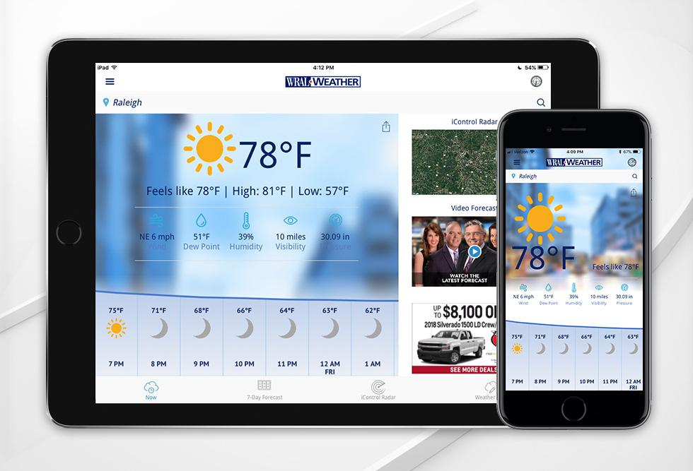 Download WRAL apps for iOS, Android, Roku, Amazon Fire TV