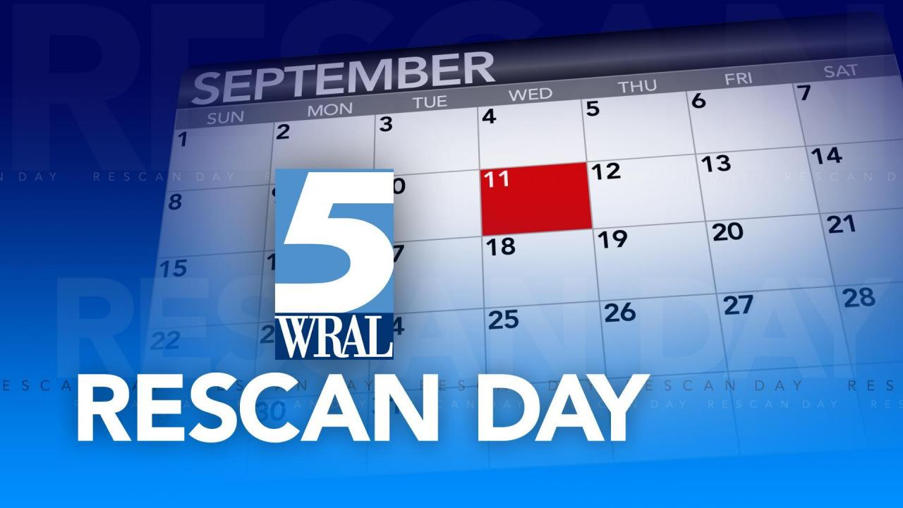 Rescan your channels on Sept  11 :: WRAL com