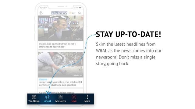 WRAL News App Latest News