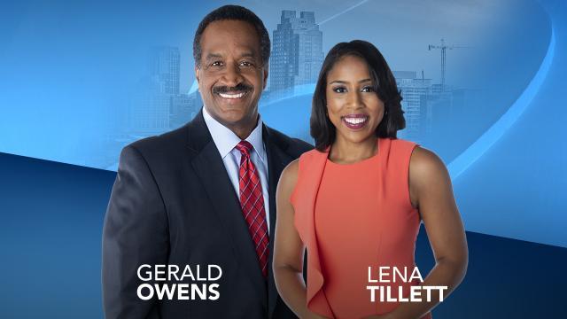 Gerald Owens and Lena Tillett
