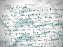 Letter to Amanda Lamb from Daniel Green