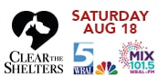 Help WRAL-TV & Mix 101.5 Clear the Shelters!