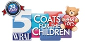 Give a coat to a child in our viewing area!